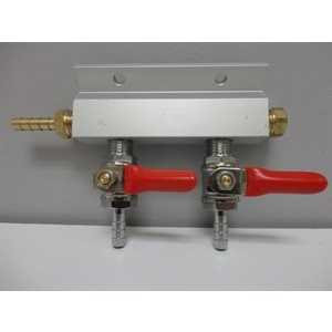 2-Way Gas Manifold 1 / 4''