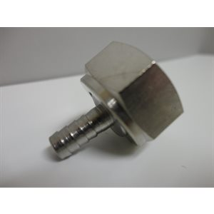 "3 / 16"" Nipple, Swivel Nut & Washer"