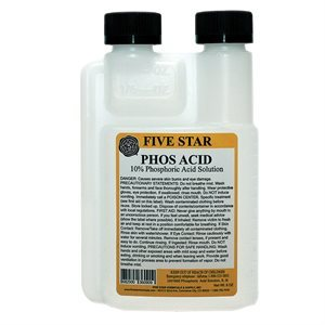 Five Star Phosphoric Acid 10%, 8 oz
