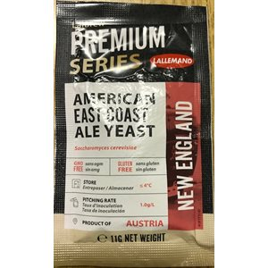 New England East Coast Ale Yeast 11 G